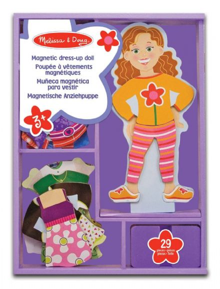 Melissa & Doug Magnetic Dress-up Doll - Maggie